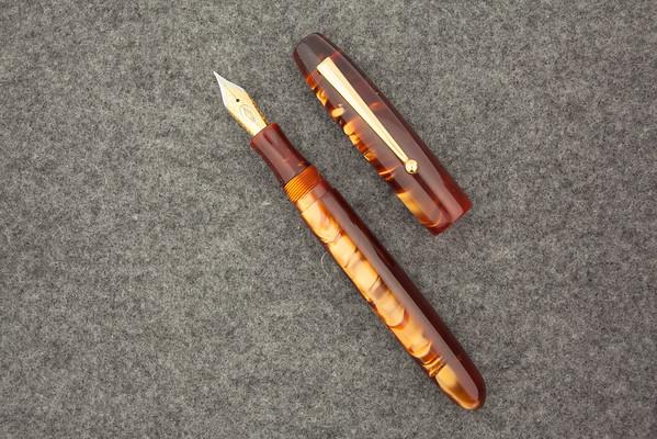 Collier in Pearlized Copper